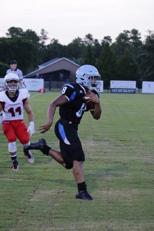 Football soars past Freedom in Kickoff Classic