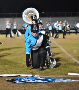 Marching show based off Romeo and Juliet ballet