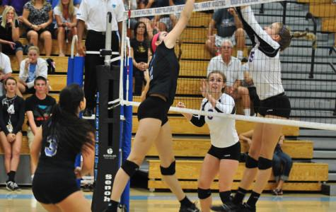 Girls' volleyball season ends in defeat against DeLand