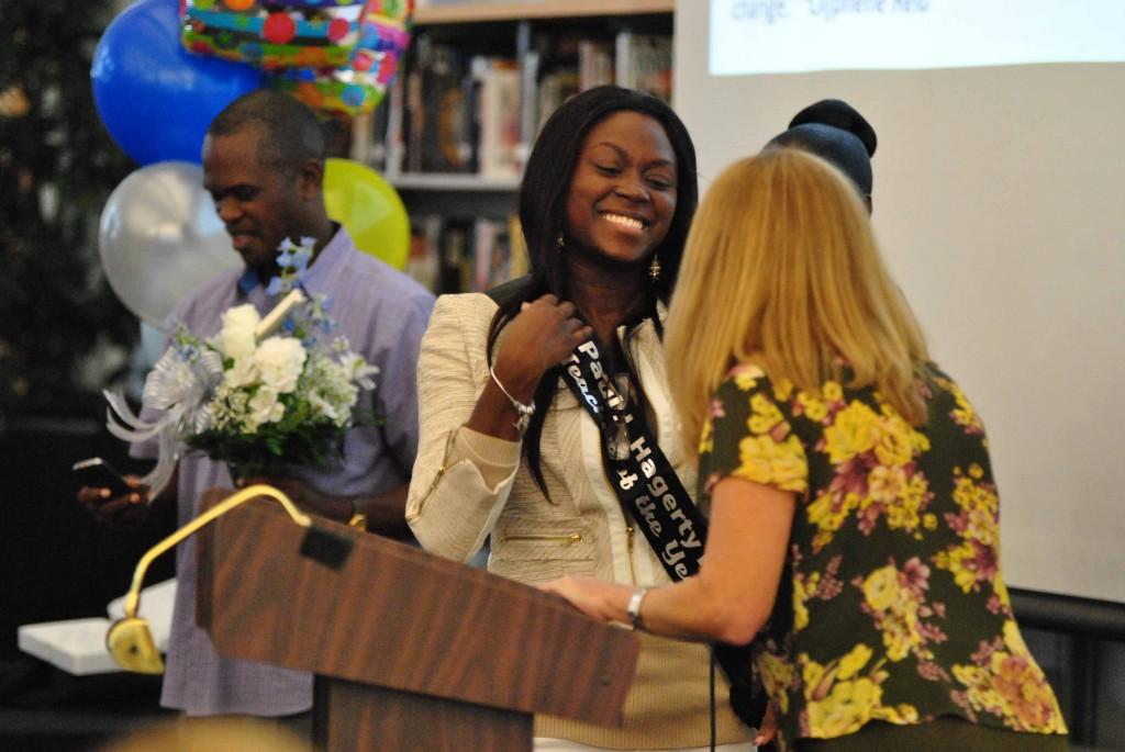 Teacher of the Year for 2013-2014 announced