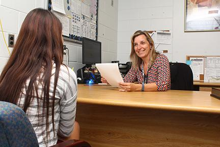 New guidance counselor fills big shoes