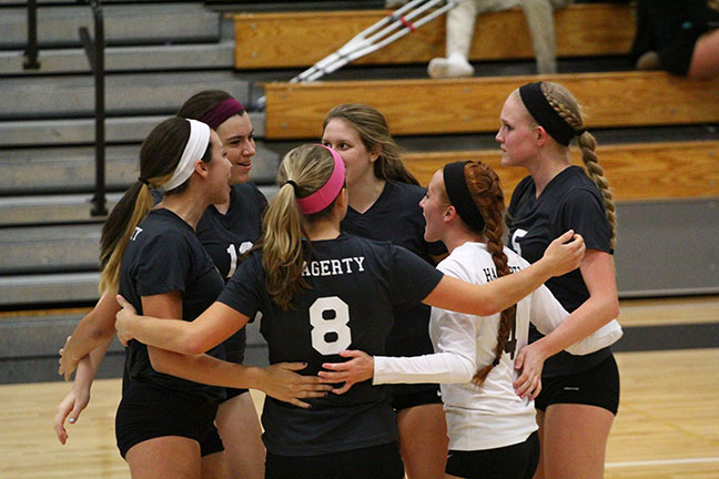 Rout of West Port earns volleyball rematch