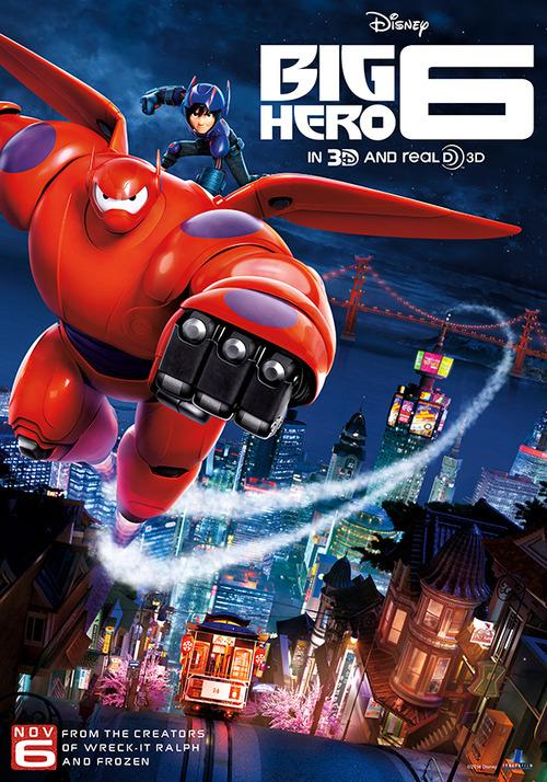 Big Hero Six almost saves the day