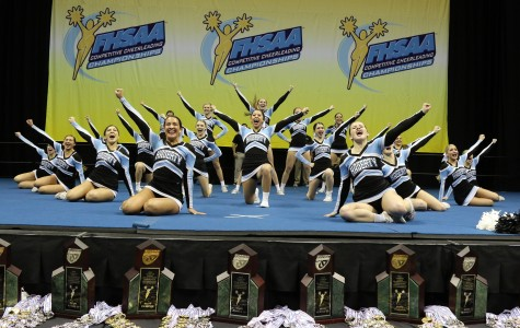 Cheer Wins Third Straight State Title