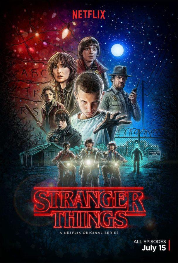 The cover photo of a Netflix Original series, Stranger Things.