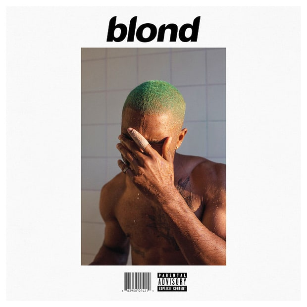 The title on the cover is Blond, but the album was released as Blonde on Apple Music.  As he says on the song