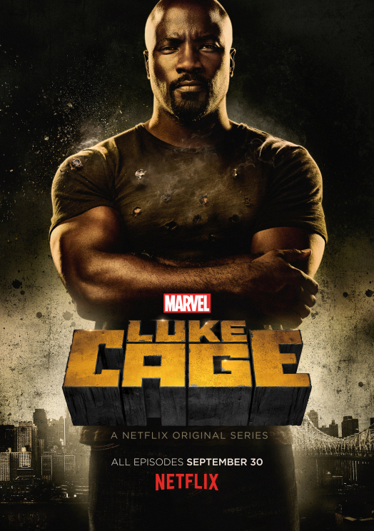 The cover photo of  a Netflix Original series, Luke Cage