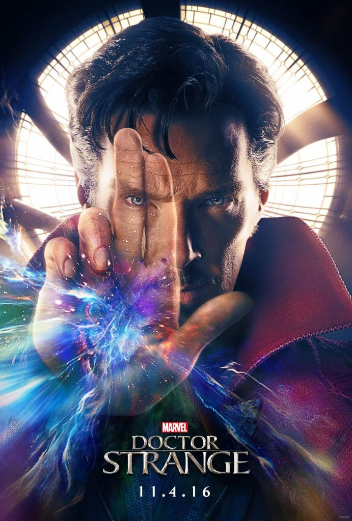 A poster advertising Doctor Strange, which was released Nov. 4. Picture from ComingSoon.net.