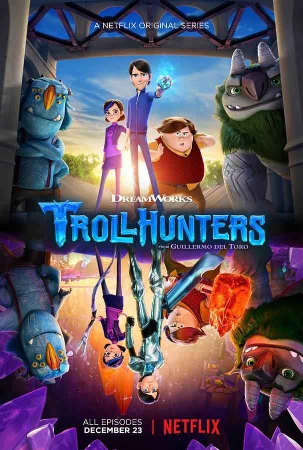 A+poster+advertising+Trollhunters%2C+which+released+its+26-episode+first+season+onto+Netflix+on+Dec.+23.+Picture+from+cartoonbrew.com.