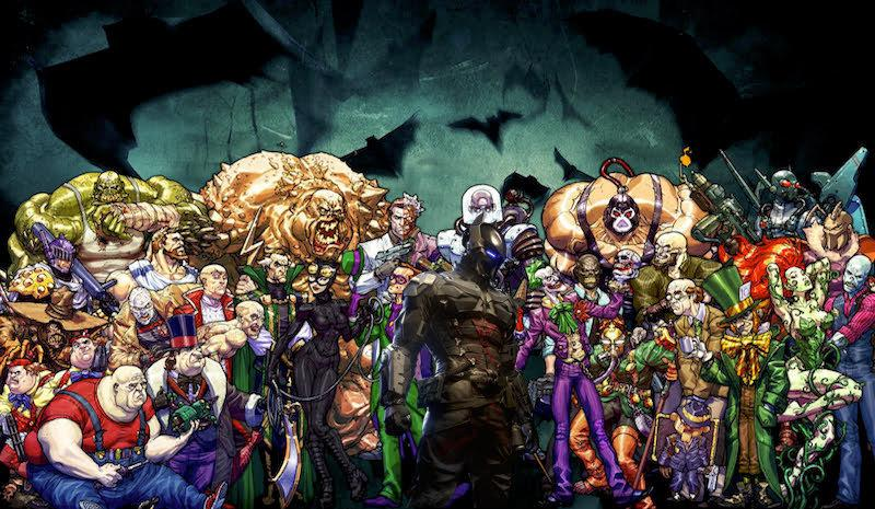 Villains+who+have+faced+off+against+the+superheroes+of+DC+Comics.+These+include+The+Joker+%28front+center+right%29%2C+Doomsday+%28Back+center+left%29%2C+and+Mr.+Freeze+%28back+center%29.