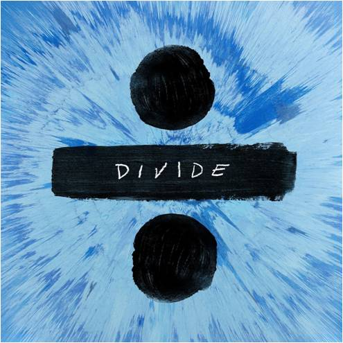 Ed Sheeran's newest album cover for his album  Divide which released March 3. This was his third studio album following Plus and Multiply.
