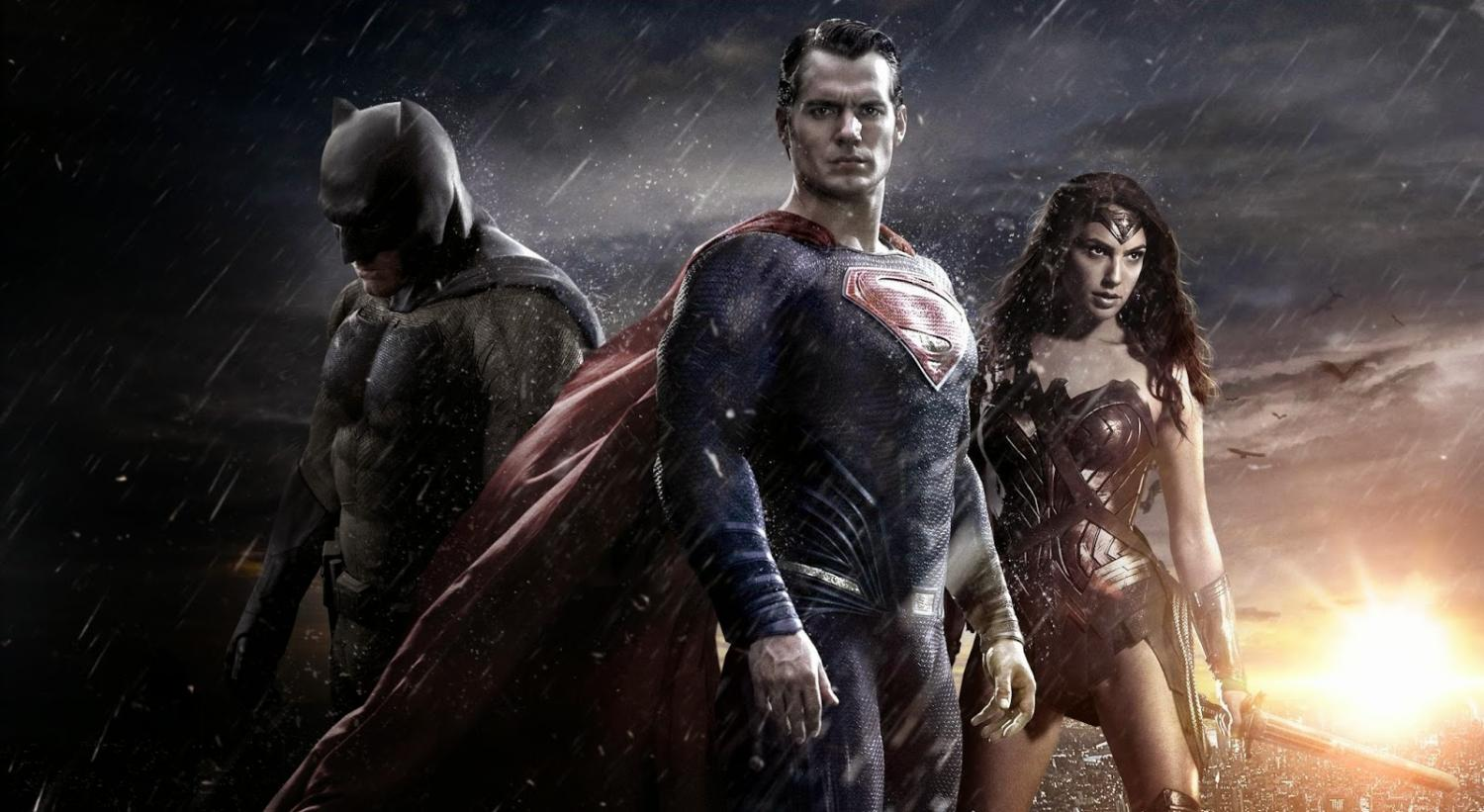 Batman (left), Superman (middle), and Wonder Woman (right), are the three most iconic heroes of DC Comics. All three are set to appear in Justice League, which releases Nov. 17.
