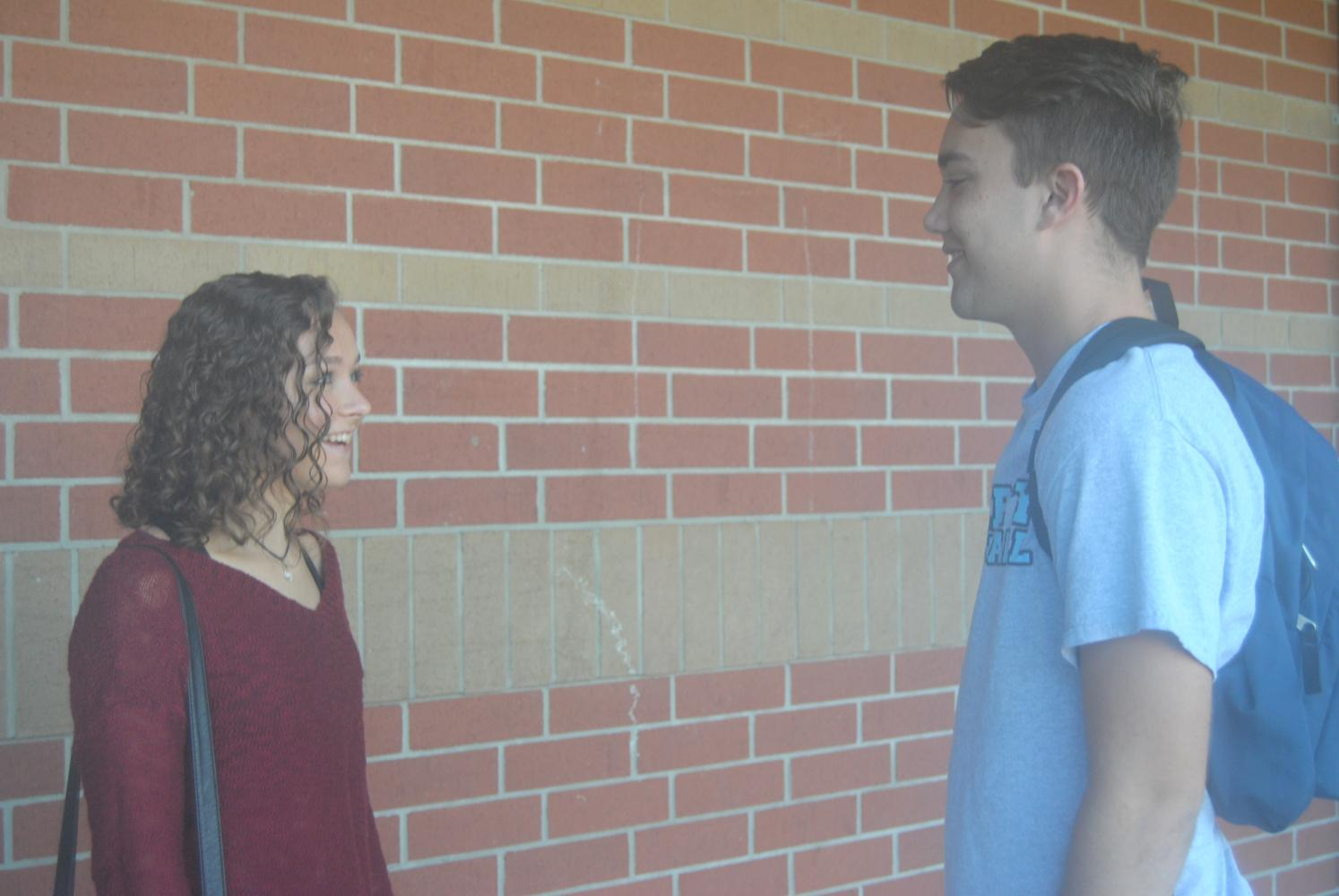 Seniors Nicholas Hurley and Sam Thue reflect on the awkwardness and funny times of the