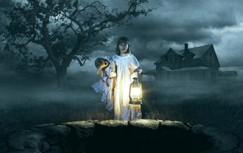 Cover for new horror movie Annabelle: Creation. The movie was released on Aug. 11.