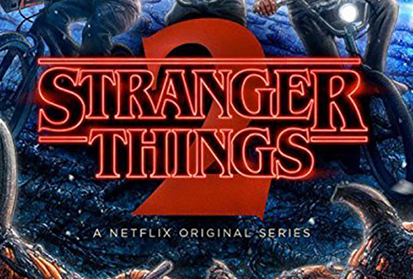 A poster for Stranger Things: Season 2. The 9-episode season is currently availible on Netflix.