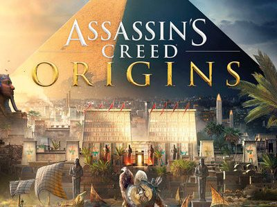 Cover for video game Assassin Creed Origins.' The game was first released on Oct. 27, 2017