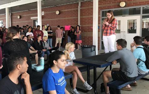 Students participate in walkout to honor Parkland victims
