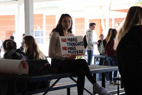 Second walkout protest held last six minutes of class