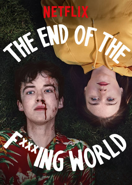 Cover for Netflix show The End of the F****ing World. The show was released on Oct. 24, 2017