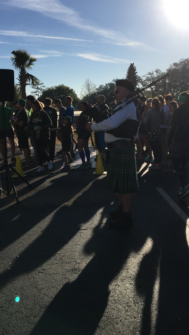 HOPE held the 7th annual Sham Rock'n 5k at St. Luke's on Saturday, March 10. The 5k always has traditional Irish entertainment like bagpipes performers and dancers.