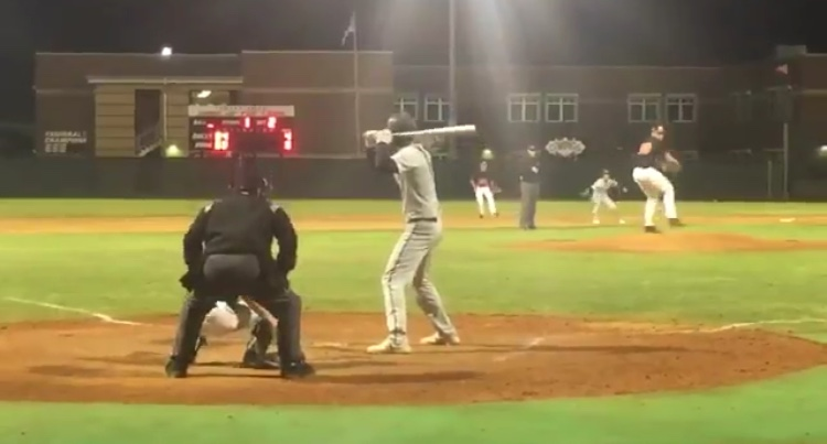 Center field man Riley Greene up to bat to score a two run home run in the third inning. Greene recorded a two run RBI triple and a RBI double as well, leading the team to a 10-6 win over Oviedo.