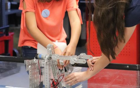 Robotics program shifts gears