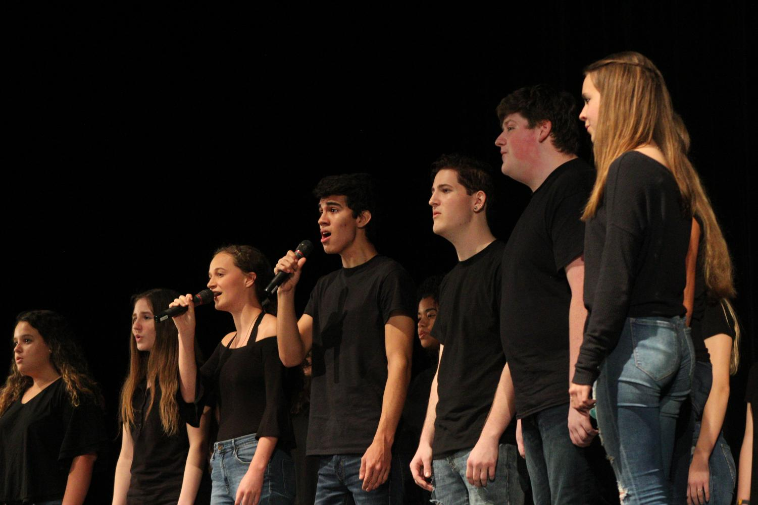 Chorus' Concert Choir performs