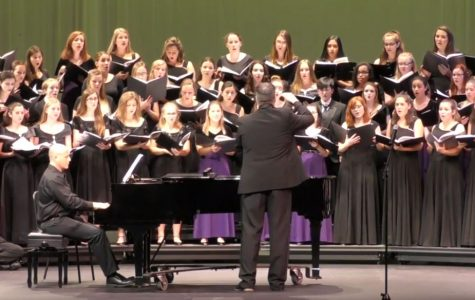 Chorus students perform at All-County