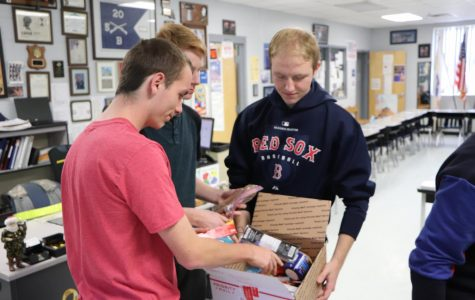 "JROTC hosts ""Operation care"" for overseas soldiers"