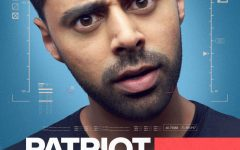A poster for Patriot Act. The series premiered on Sunday, Oct. 28.