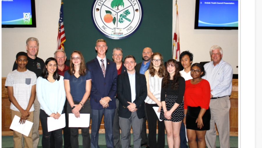 The Oviedo Youth Council met with City Hall on Feb. 6
