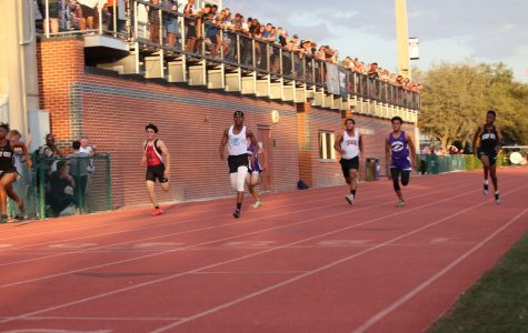 Track and field competes at Brian Jaeger Invite