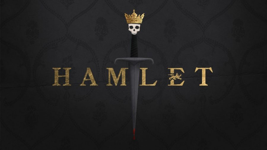 The Hamlet production cover at the Orlando Shakespeare Theater