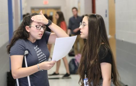 Theater students take center stage for Crucible