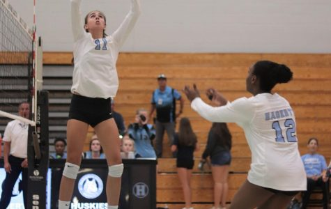 Volleyball wins fifth consecutive district title