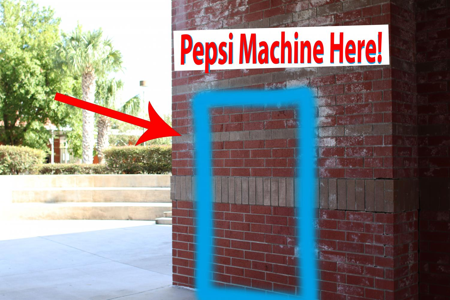 New Pepsi machines are coming to campus this school year.