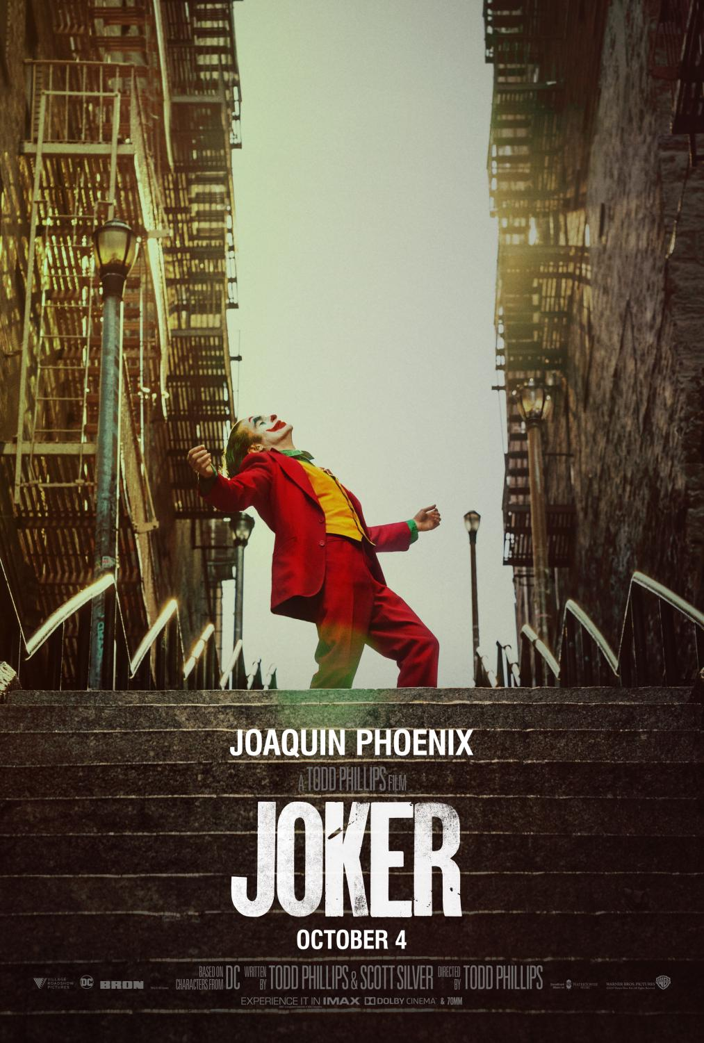 The Joker, starring Joaquin Phoenix, earned $96 million at the box office in its opening weekend. This is the biggest October opening of all time.