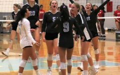 Girls varsity volleyball stuns top ranked Leon
