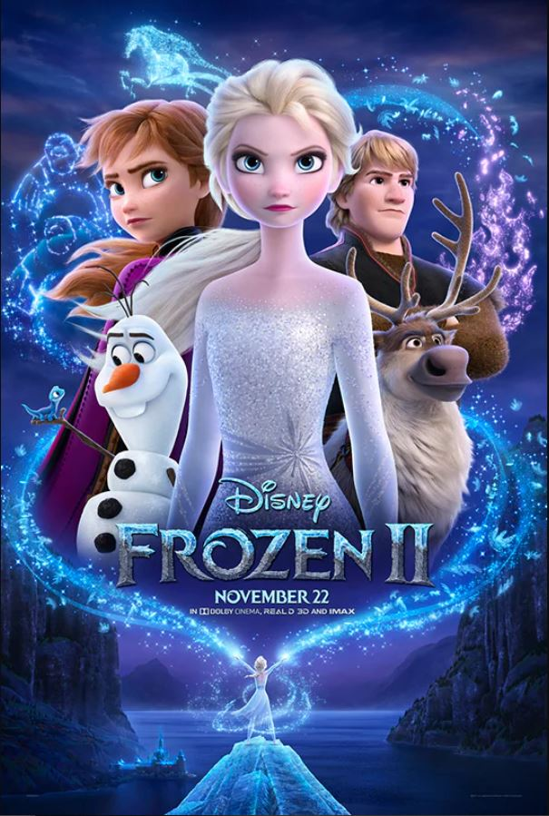 The official movie poster from Disney for