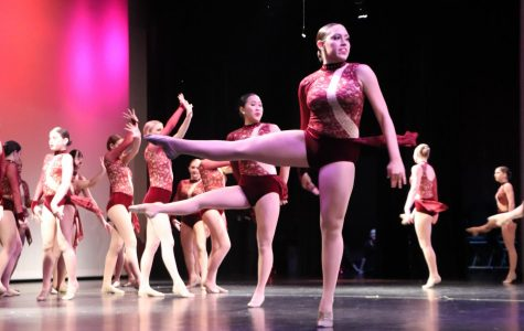 Dance puts on holiday show