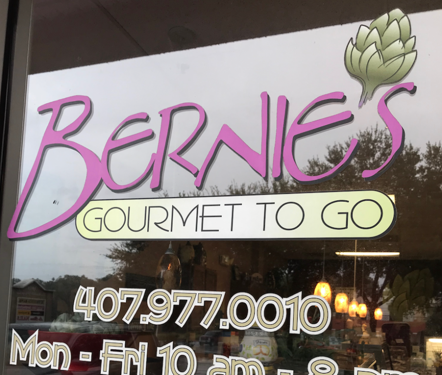 Bernie's is a cafe that provides gourmet food to take home to family.