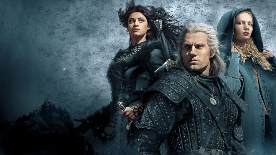 Yennefer of Vengerberg, Princess Ciri of Cintra, and Witcher Geralt of Rivia are main characters in Netflix original,