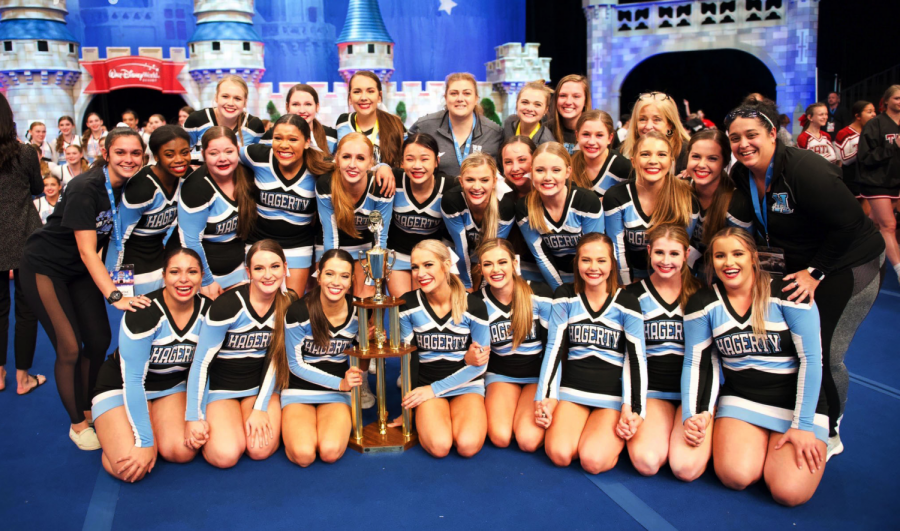 The varsity cheer team captured their first national title since 2014, the second in school history.