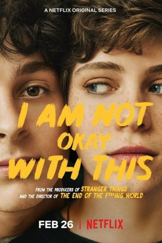"Wyatt Oleff and Sophia Willis in ""I Am Not Okay With This"""