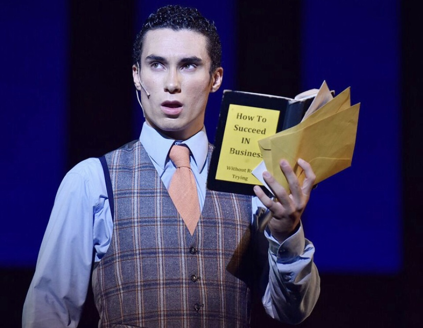 Oklahoma City freshman Vangeli Tsompanidis performing in the fall musical