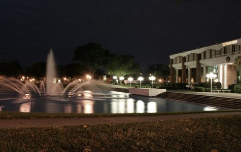 The University of Central Florida reflecting pond is an iconic landmark on campus.