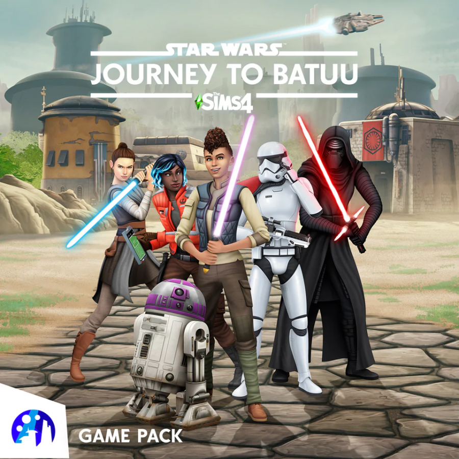 The Sims 4 Star Wars: Journey to Batuu came out on September 8, 2020 and was met with mixed reviews among  critics. The game pack follows stuff pack Nifty Knitting and expansion pack Eco Lifestyle.