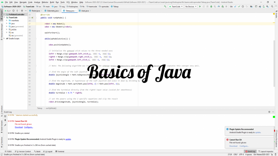 "Learn the basics of Java coding with staffer Matthew Dearolph. This segment provides a brief overview of Syntax the ""grammar"" of java and variables a key component of coding.  Music by: https://www.bensound.com"