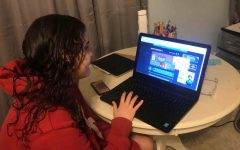 Senior Haley White tries to play Papa's Wingeria on coolmathgames.com but finds the game no longer works after the discontinuation of Adobe Flash Player.