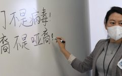 Chinese teacher Mrs. Zhang teaches both Mandarin and Chinese culture to students. Zhang also sponsors the Asian Culture Club, in which they discussed the recent attacks on the Asian-American community.